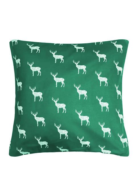 Harper Lane Contempo Deer Decorative Pillow 18 in