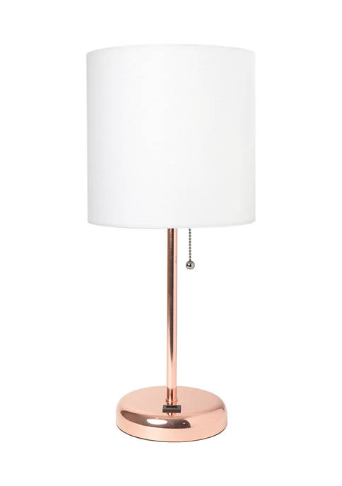Limelights Stick Lamp with USB charging port and