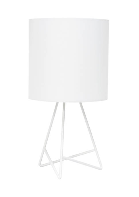 Simple Designs Down to the Wire Table Lamp