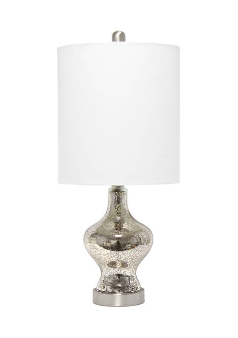 Lalia Home Paseo Table Lamp with White Fabric