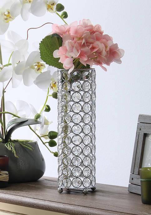 Elegant Designs Elipse Crystal Decorative Candle Holder