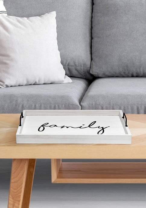 Elegant Designs Family Serving Tray