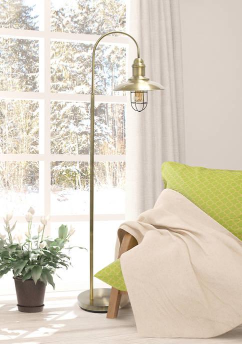 Lalia Home Modern Farmhouse One Light Floor Lamp
