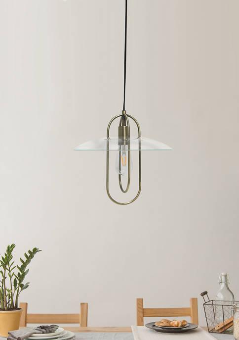 Lalia Home One Light Elongated Metal Pendant Light