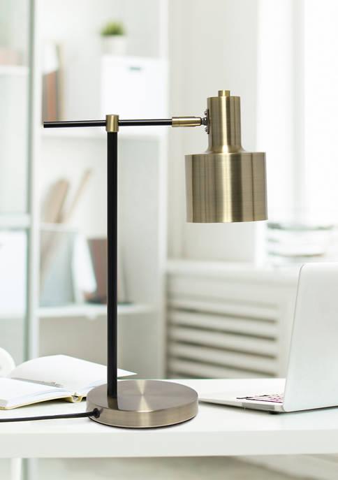 Lalia Home Mid Century Modern Metal Table Lamp