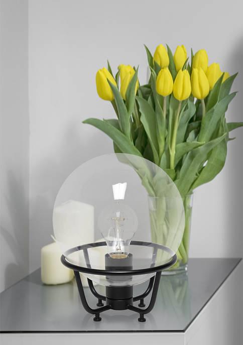 Lalia Home Old World Globe Glass Table Lamp