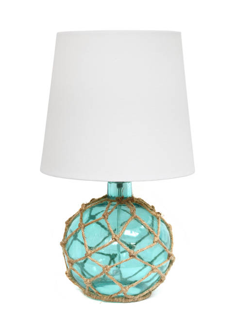 Buoy Netted Glass Table Lamp