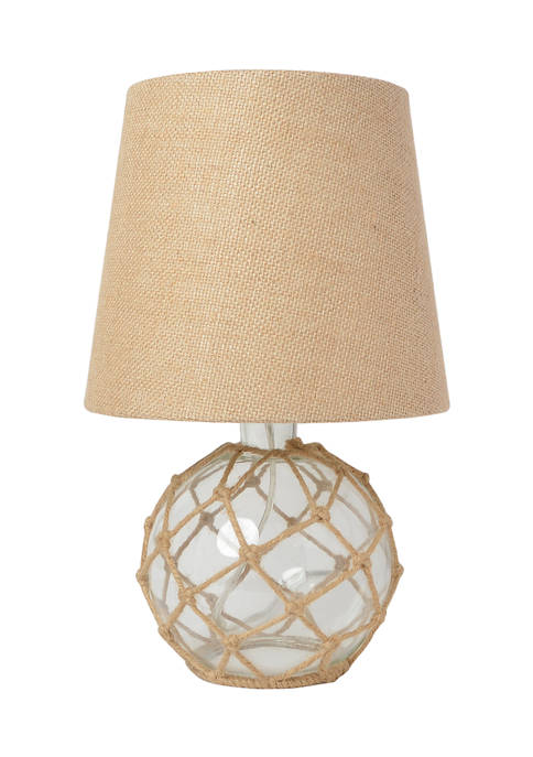 Elegant Designs Buoy Netted Glass Table Lamp