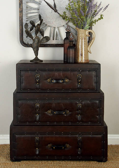 Stacked Trunk Cabinet