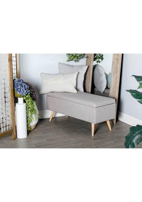 Polyester Bench Walnut Legs