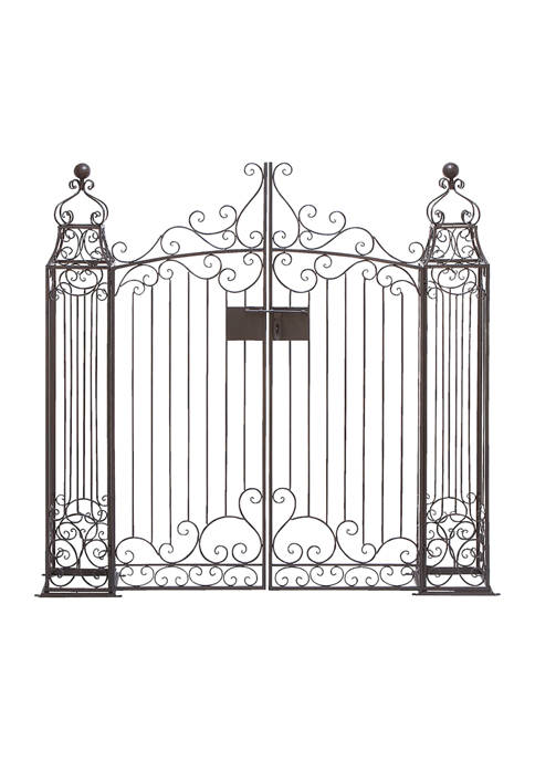 Monroe Lane Classic Wrought Iron Garden Gate