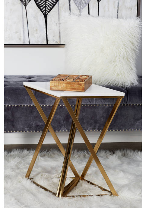 Marble Accent Table - Set of 2