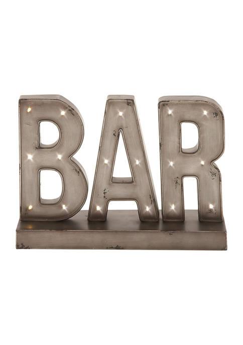 Metal Led Bar Sign