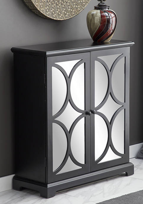Wooden Mirrored Cabinet