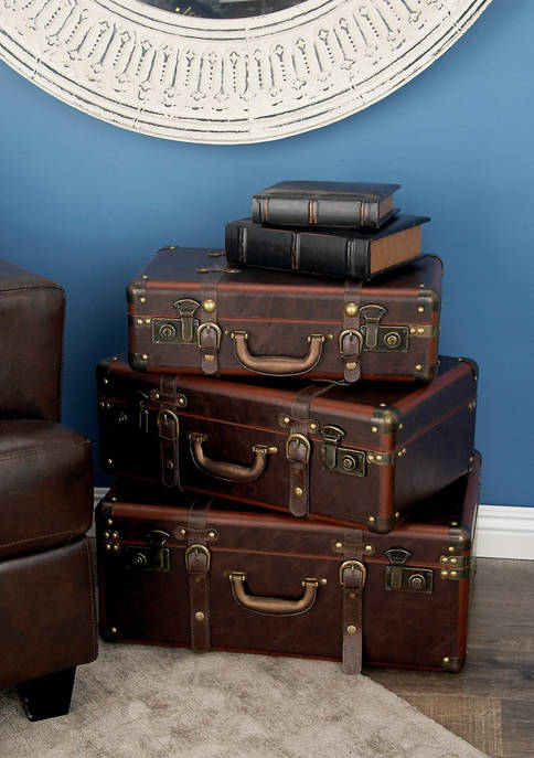 Monroe Lane Wooden Leather Case