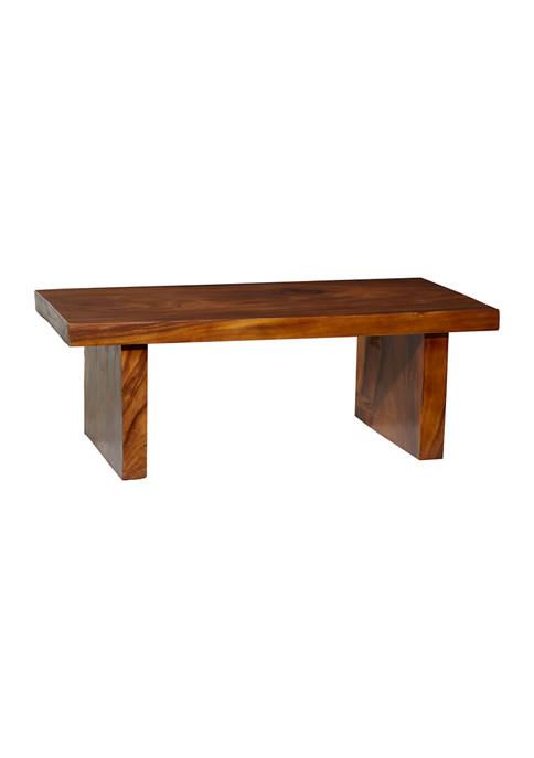 Brown Wood Natural Coffee Table