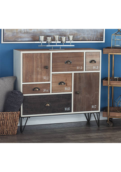 Wood Metal Chest