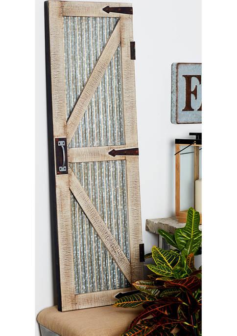 Wooden Door Panel  - Set of 2