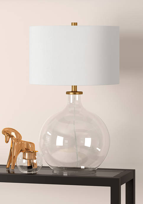 Hinkley & Carter Laelia Clear Glass Table Lamp