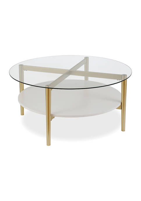 Hinkley & Carter Otto Coffee Table with Shelf