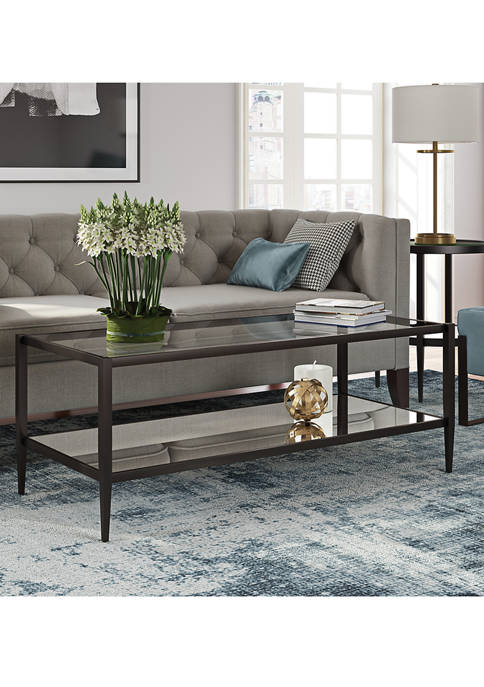 Hinkley & Carter Hera Coffee Table With Mirrored