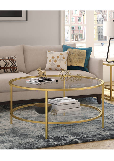 Hinkley & Carter Sivil Coffee Table With Glass