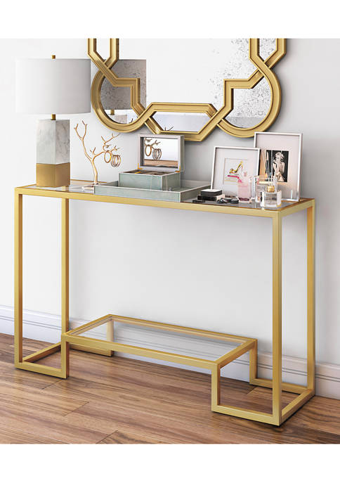 Hinkley & Carter Athena Console Table In Gold