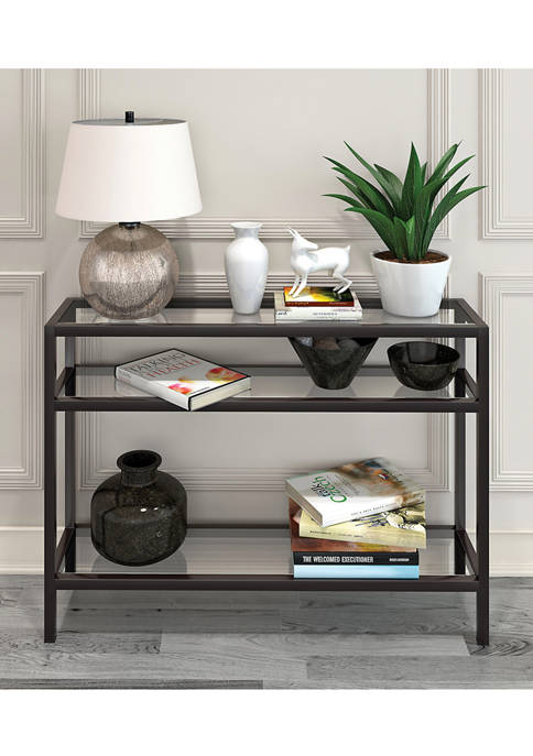 Hinkley & Carter Sivil Console Table In Blackened