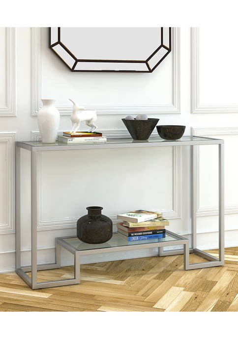 Hinkley & Carter Athena Console Table In Satin