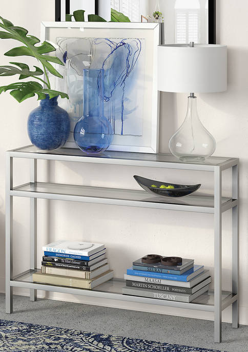 Hinkley & Carter Sivil Console Table In Satin