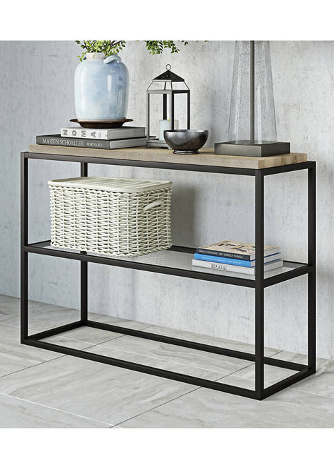 Hinkley & Carter Hector Console Table In Blackened