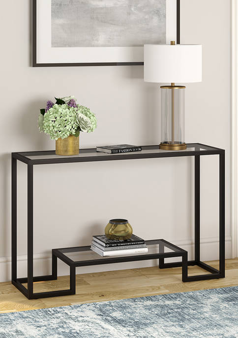 Hinkley & Carter Athena Console Table In Blackened