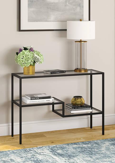 Hinkley & Carter Lovett Console Table Blackened Bronze