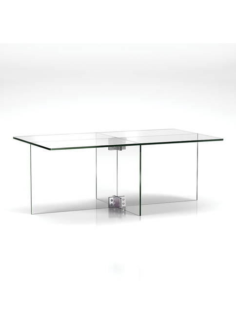 Hinkley & Carter Gehry Coffee Table In Clear