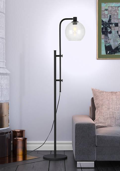 Hinkley & Carter Antho Floor Lamp In Blackened