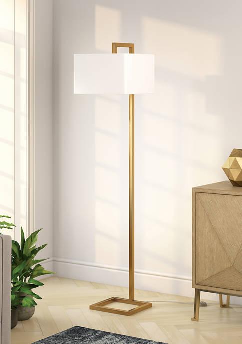 Hinkley & Carter Grayson Brass Finish Floor Lamp