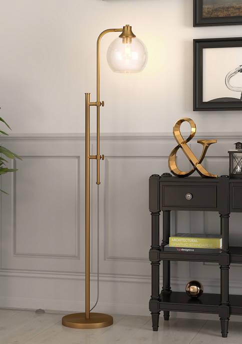 Hinkley & Carter Antho Height Adjustable Brass Floor