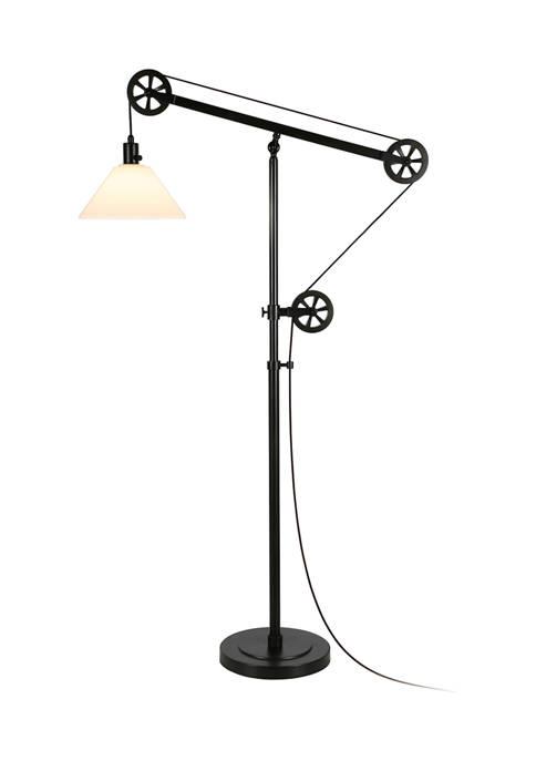 Hinkley & Carter Descartes Pulley Floor Lamp W
