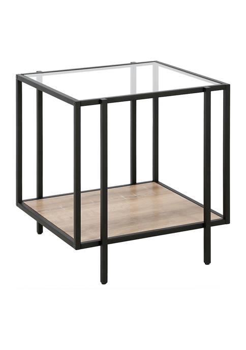 Hinkley & Carter Vireo Blackened Bronze Side Table