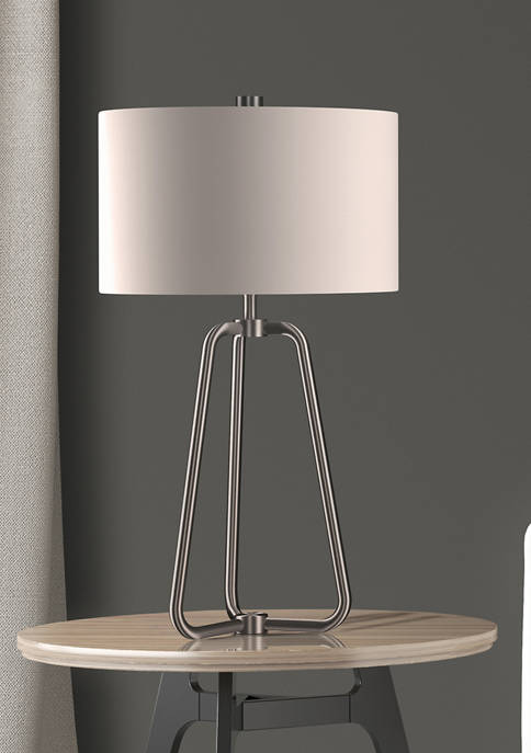 Hinkley & Carter Marduk Table Lamp In Brushed