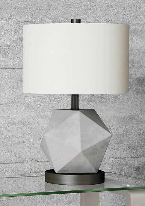 Hinkley & Carter Kore Table Lamp In Concrete