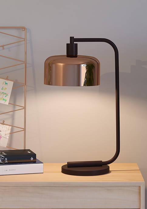 Hinkley & Carter Cadmus Table Lamp In Copper