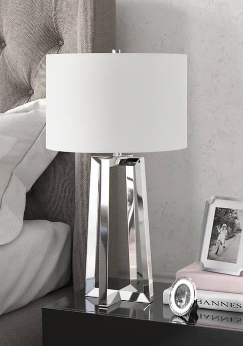Hinkley & Carter Helena Table Lamp In Nickel