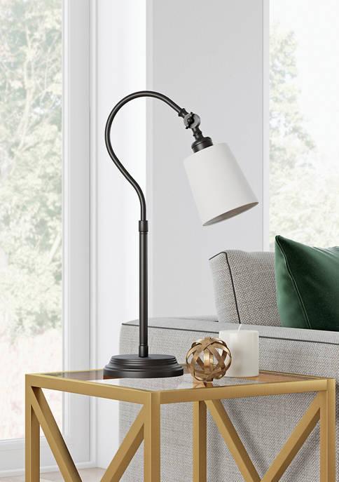 Hinkley & Carter Harland Blackened Bronze Table Lamp