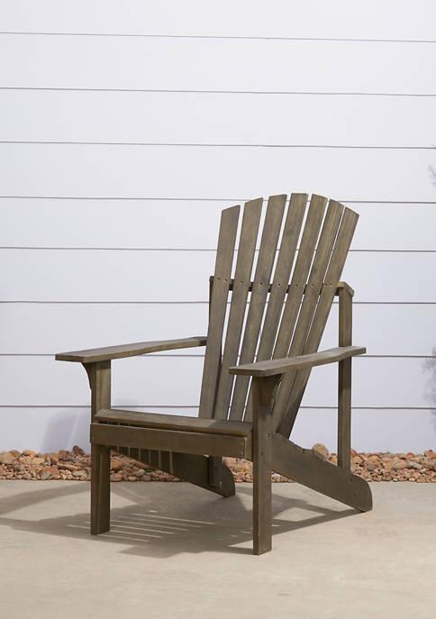 Renaissance Outdoor Patio Wood Adirondack  Chair