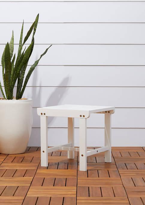 Bradley Outdoor Patio Wood Side Table