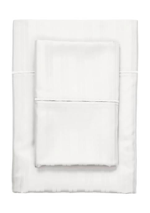 Biltmore® Century Damask Stripe Sheet Set