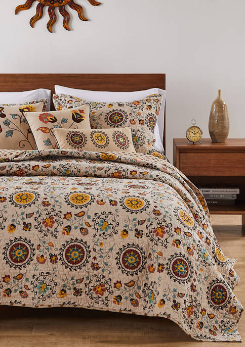 Greenland Home Fashions Andorra Quilt and Pillow Sham