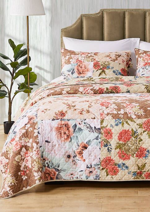 Greenland Home Fashions Briar Quilt and Pillow Sham