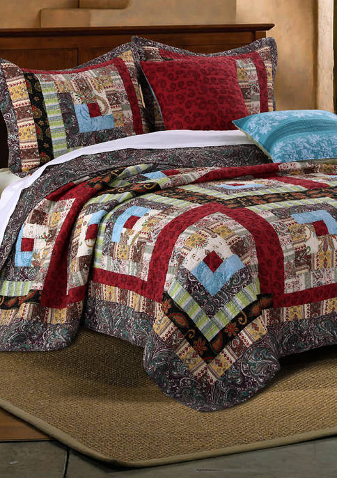 Greenland Home Fashions Colorado Lodge Quilt and Pillow